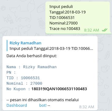 Telegram bot undian