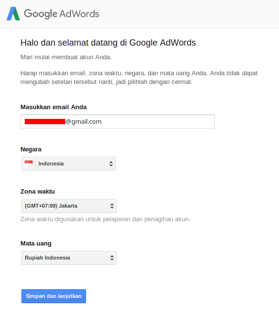 cara riset keyword - Google keyword planner
