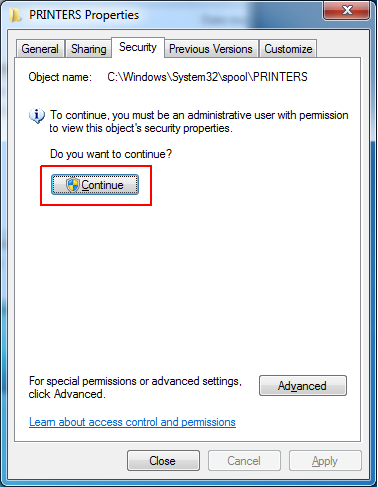Mengatasi Access is Denied Add Printer via Local Port
